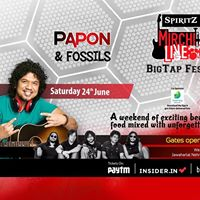 Spiritz Mirchi Live Big Tap Fest with Papon &amp Fossils