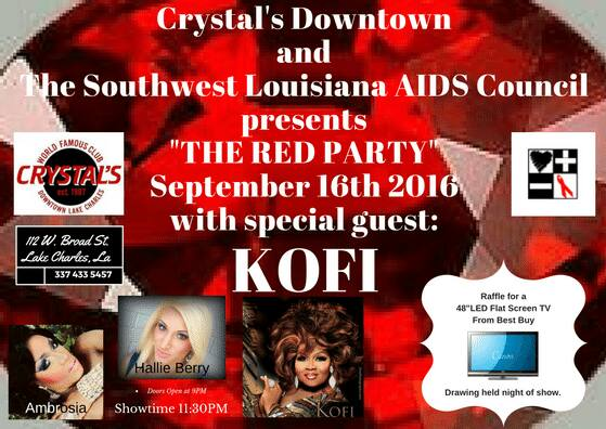 Slac Crystals Downtown Presents Red Party With Special Guest