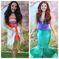 Princess and Mermaid Beach Party