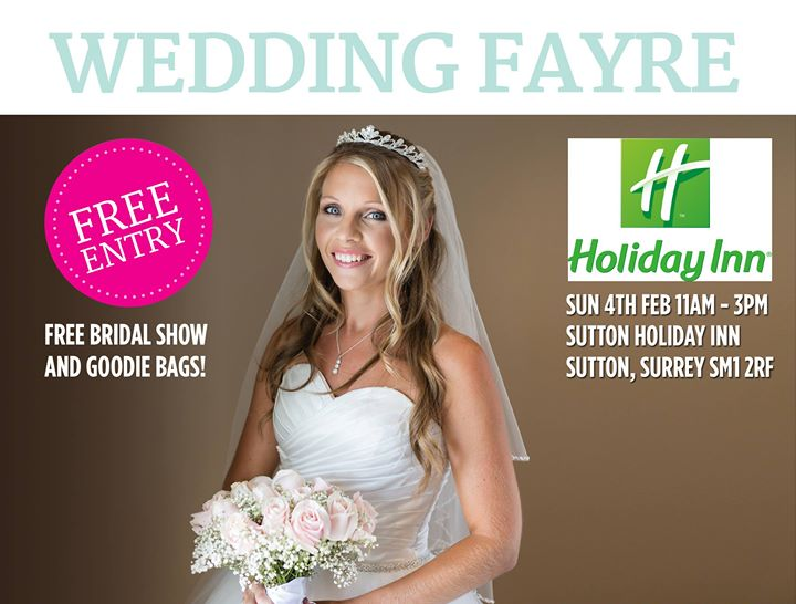 Wedding Fayre - Sutton Holiday Inn