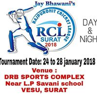 Rajpurohit Cricket League Surat 2018