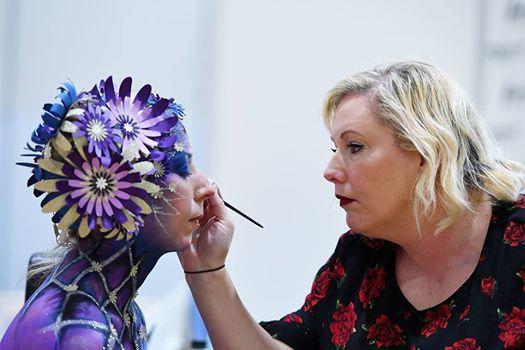 Professional Beauty Londons Warpaint Make-up Championships