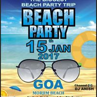Beach Party Trip  Goa Trip