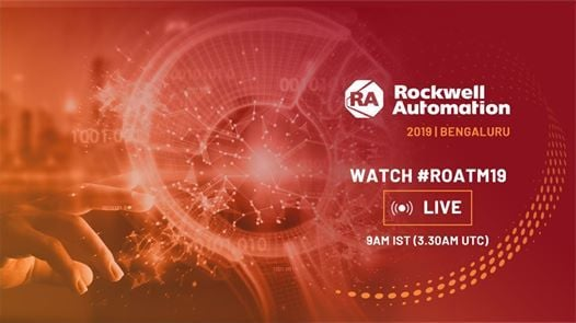Join Us For FB LIVE Rockwell Automation On The Move 2019