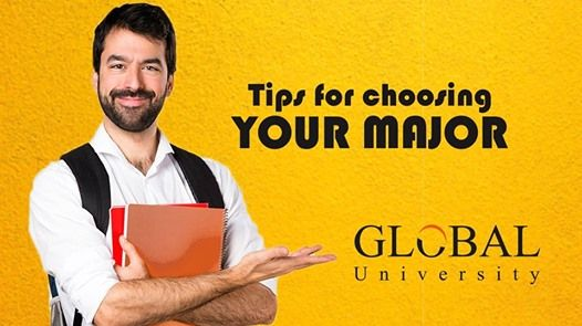 Tips for Choosing Your Major