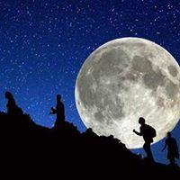 Trekking al chiaro di luna