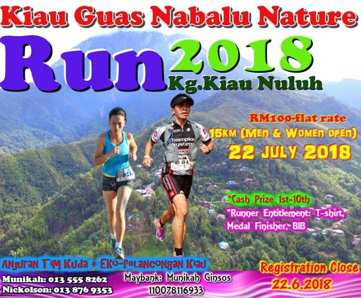 Kiau Guas Nabalu Nature Run 2018