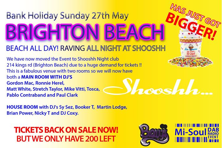 Mi-Soul Radio Brighton All-Dayer