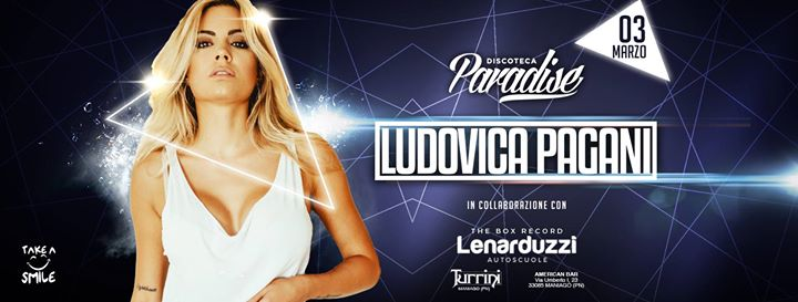 sab 3/3 - ludovica pagani @paradise at paradise bissò official