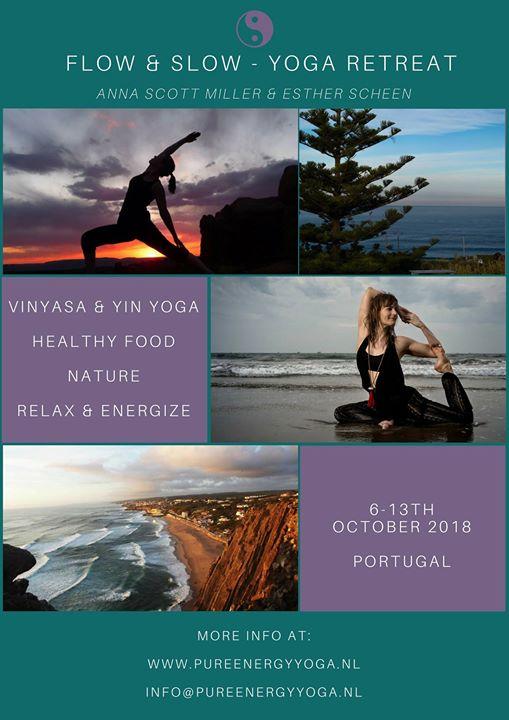 Flow & Slow Yoga Retreat Portugal Pure Energy Yoga & Anna Scott