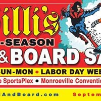 Willis Pre-Season Ski &amp Board Sale 2017