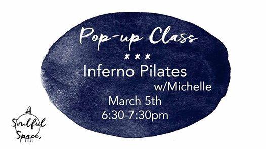 Pop-up Class Inferno Pilates wMichelle