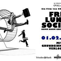 Free Lunch Society Film Event und Grundeinkommensverlosung