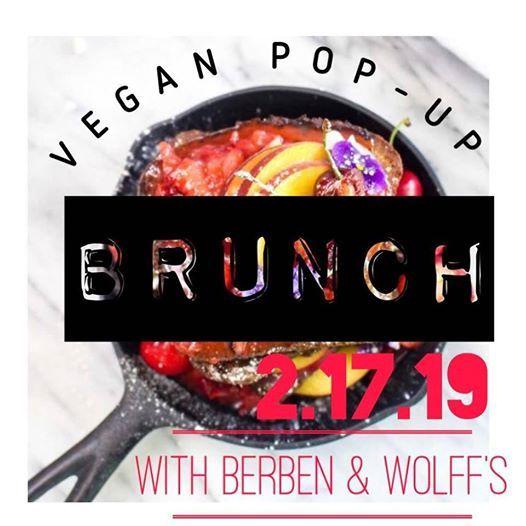 Vegan Pop-Up Brunch with Berben & Wolffs