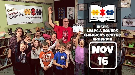 Start A Story visits Leaps & Bounds Childrens Centre Arnprior