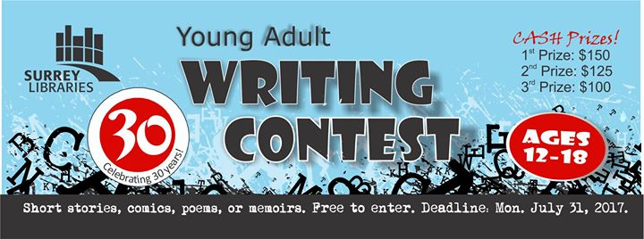 Adult writing contest