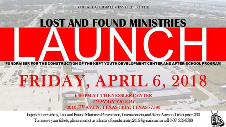 Lost And Found Ministry Launch And Dinner Fundraiser at Charles T