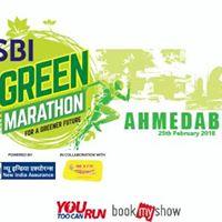 SBI Green Marathon - Ahmedabad