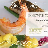 Dine With Your Heart - Valentines Dinner At Savoy