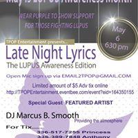 Late Night Lyrics-The Lupus Edition