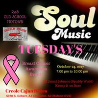 Soulful Tuesdays Breast cancer Awareness Event