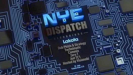 Lakotas NYE Dispatch Recordings Takeover - More TBA