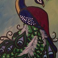 Galop Night Of Painting &quotFancy Peacock&quot