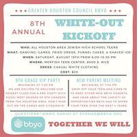 Houston BBYOs 8th Annual White-Out Kickoff