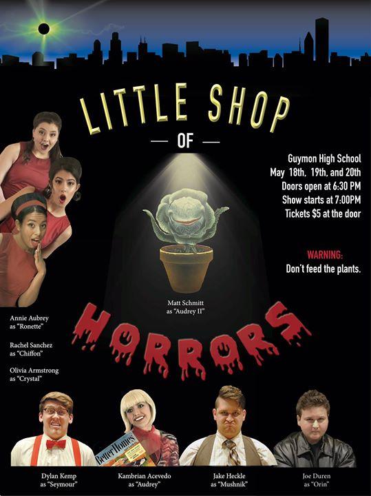 Guymon HS Presents Little Shop of Horrors