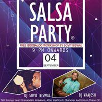 DSS BLITZ Salsa Party  LSF Precursor