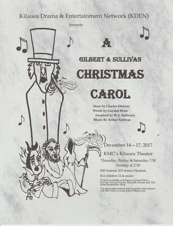 Image result for kden a gilbert and sullivan christmas carol