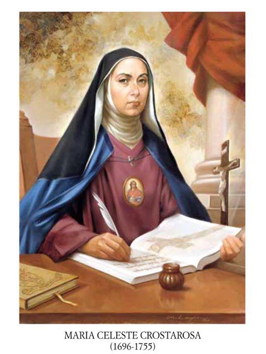 blažena Maria Celeste Crostarosa - redovnica in ustanoviteljica