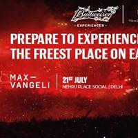 Budweiser  Road to Tomorrowland - Max Vangeli NehruPlaceSocial