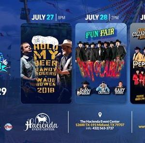 Midessa Music Festival LaHacienda 3 Big Days