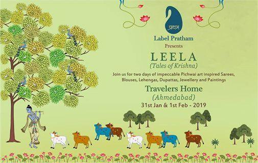 Leela- Tales of Krishna in Ahmedabad  31st Jan - 1st Feb 2019