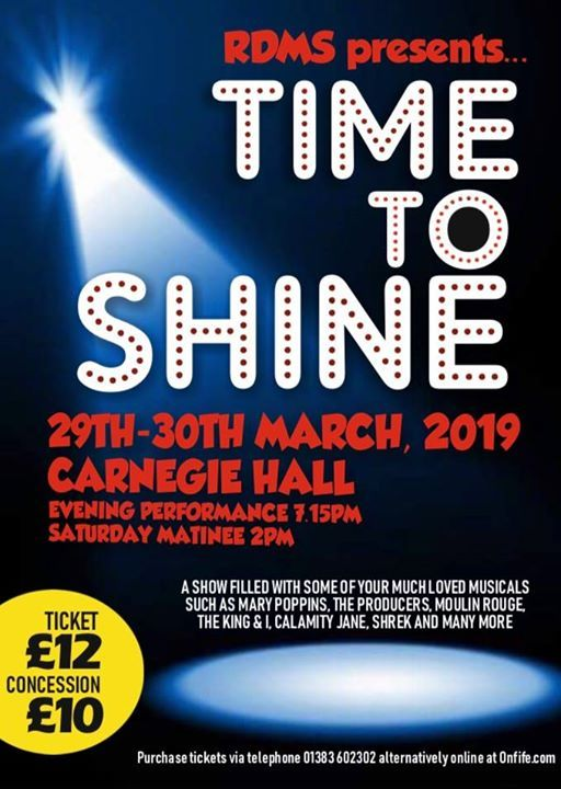 Rdms Presents Time to Shine