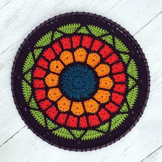 Crochet Workshop Stained Glass Mandala At Bon Accord Aberdeen Aberdeen