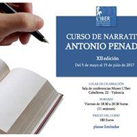 XII Curso de Narrativa Antonio Penads