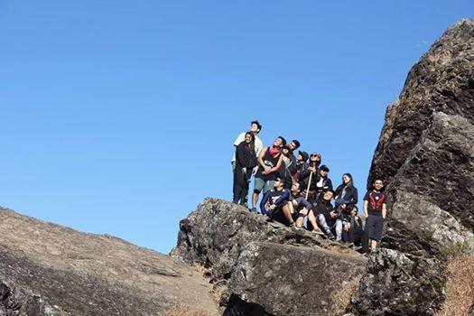 Mt. Ulap  April 14 Exclusive 1van