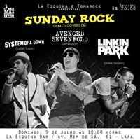 Sunday ROCK 3 Bandas  Domingo 9 de Julho na Lapa.
