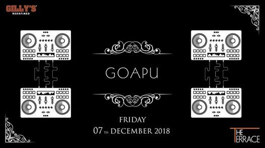 The Terrace presents Friday Nights with Goapu