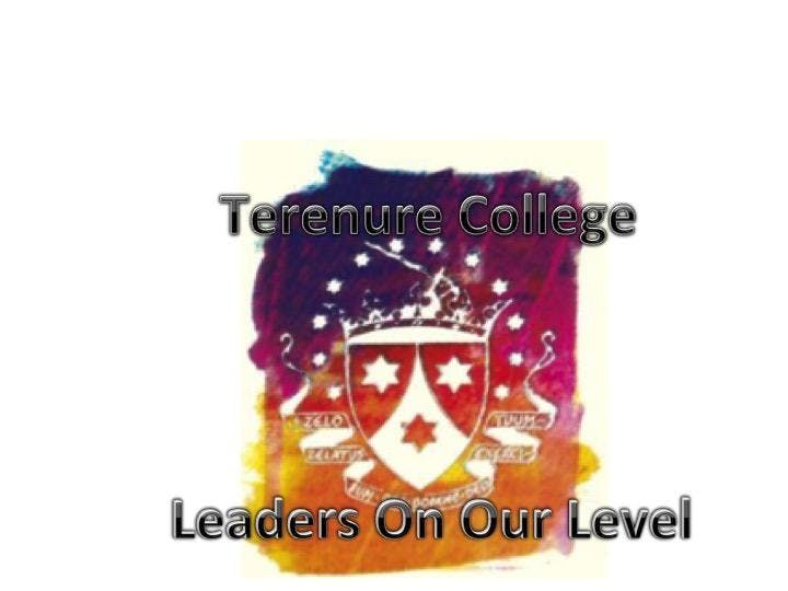 Terenure College Leaders On Our Level 2019