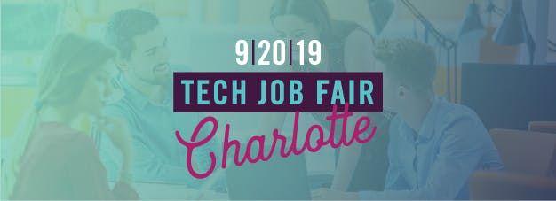 NC TECHs Job Fair in Charlotte (September 2019)