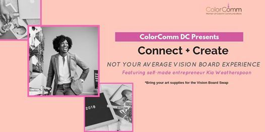 ColorCommDC Connect  Create  Not Your Average Vision Board