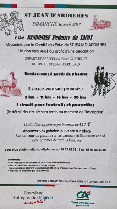Randonnee Pedestre Du Tacot At Saint Jean D Ardieres France