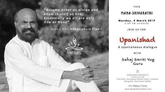 Upanishad - A spontaneous dialogue