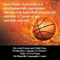 Start Smart Basketball Registration Deadline