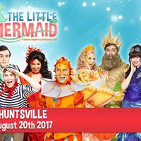 The Little Mermaid will be in Huntsville