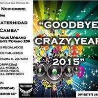 Good Bye Crazy Year 2015