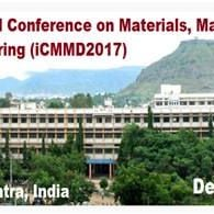 International Conference on Materials Manufacturing and Design